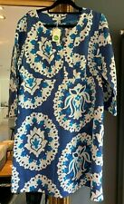 Boden Blue And White Floral Kaftan, Brand New With Tags, Size 14