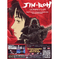 LIMITED BOX 2 DVD FILM MANGA MOVIE ANIME-JINROH,UOMINI E LUPI ghost in the shell