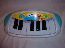 """Sesame Street Piano Carry Along Musical Learning Toddler 12"""" Toy"""