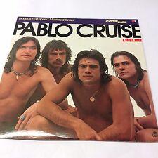 "PABLO CRUISE ""Lifeline"" EX/EX Classic Rock Vinyl LP 12"" HALF SPEED MASTER USA"