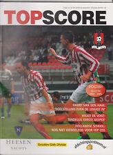 Programme / Magazine Top Oss TOPScore Jaargang 3 no.1 Oktober 2004
