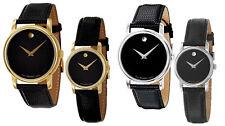 Movado Museum  2100002 2100004 2100005 2100006 Watch Men Women Black Gold Silver