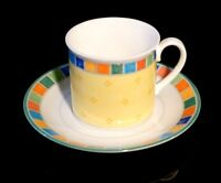 Beautiful Villeroy Boch Twist Alea Limone Cup And Saucer
