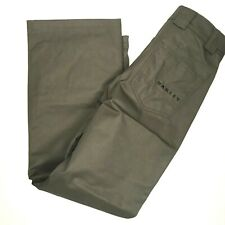 Oakley Mens Snowboard Pants Sunking Shell 10K BZS Small Green NEW $130 Winter