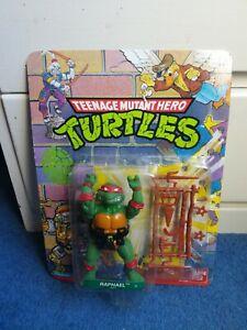 RAPHAEL - Vintage Teenage Mutant Hero Turtles - New MOC Unpunched - Ninja 1988
