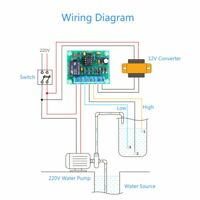 Automatically Pumping Water Liquid Level Controller Water Level Detection Sensor