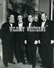 STAN LAUREL & OLIVER HARDY Rare Photo hanging out w/ WALT DISNEY and HAL ROACH