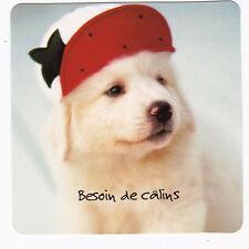 CHIEN  Chiot   CHIENS  carte postale   n°  FFU 0012  Besoin de câlins