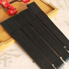Chinese Japanese Style Handmade Folded Hand Silk Fan for Women Men Performance