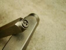 """""""Yin Yang"""" Spiritual -6mm-Large Stamp-Metal-Hardened Steel-Gold & Silver Bar"""