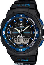 Casio Gents Sports Gear Compass Thermometer Alarm Chronograph Watch