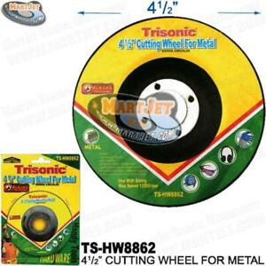 "1 Abrasive Cut-Off Cutting Grinding Wheel Metal Stainless Steel 4-1/2"" 1/8"" 7/8"""