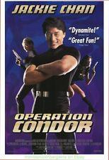 OPERATION CONDOR MOVIE POSTER Original SS 27x40 JACKIE CHAN 1991 Film