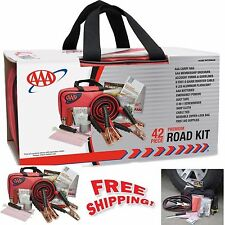 Roadside Emergency Assistance Kit 42-Piece Car Auto First Aid Travel Survival