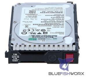 "GENUINE HPE 2TB SATA 6G/s Midline 7200 RPM 2.5"" SC512e HDD 765455-B21 765869-001"