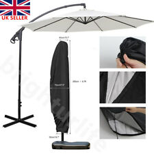 Parasol Banana Umbrella Cover Cantilever Outdoor Garden Patio Shield Waterproof