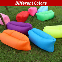 Inflatable Lazy Chair Air Sofa Portable Lounge Couch Air Sofa For Camping Beach