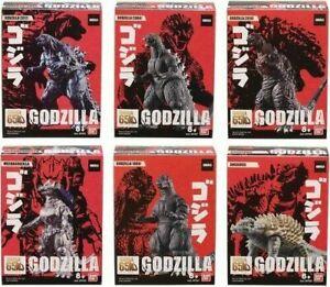 "Godzilla 3.5"" Vinyl Figure Assortment Box 10 Packs Bandai 2019 Sealed Case"