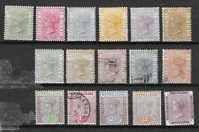 1859 - 1900 Sierra Leone stamps lot 6553