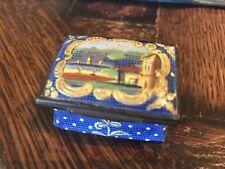 Antique 1700's 1800's French or English Enamel BOX Battersea Bilston Samson