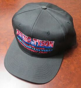 """Iron"" MIKE TYSON vs FRANK BRUNO 3/16/1996 SNAP BACK HAT New NEVER WORN Official"