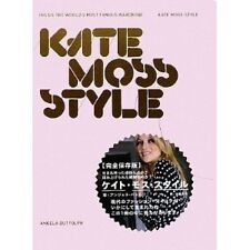 "KATE MOSS Photo Book ""KATE MOSS STYLE "" 2009 very Good, Japan"