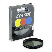 Zykkor 49mm CPL Circular Polarizer Filter Lens Sony NEX5 NEX3