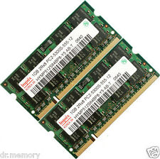 Hynix 2gb (2x1gb) Ddr2 Pc2-5300 667 Mhz Laptop (sodimm) Memoria Ram Kit de 200 patillas