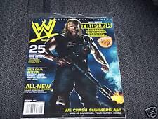 WWE MAGAZINE SEPTEMBER 2007 BRAND NEW NEVER OPENED!!!!!