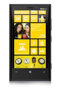 Nokia  Lumia 920 - 32GB - Schwarz Neugerät mit Branding (Ohne Simlock) In OVP