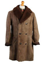 Vintage Lakeland Real Sheepskin Coat Jacket Size XL- C435