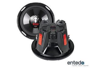 BOSS AUDIO P126DVC Subwoofer 300mm 12Zoll Lautsprecher Bass Box Auto KFZ PKW NEU