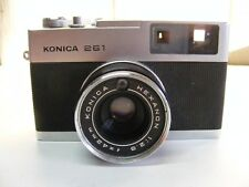 "Konica 261 with Konica Hexanon 42mm lens ""Parts or Repair"""