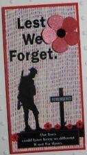Rememberance Day POPPY Fridge MAGNET