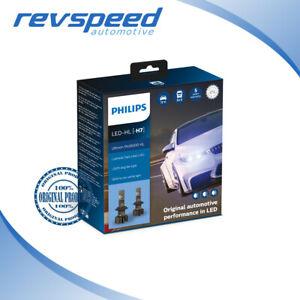 Philips H7 LED Ultinon Pro9000 Set of 2x Bulbs 5800K +250% NEW