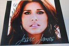 JESSIE JAMES - SUPER HOT PHOTO - HAND SIGNED 8 X 10