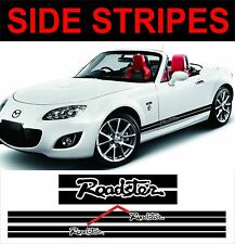 mazda mx5 side stripe decals graphics roadster
