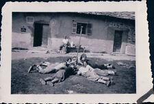 FOTO ALPINISTI AL RIFUGIO VITTORIO SELLA 1939 ALPE LAUSON Valle d'Aosta 7-74