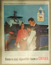 Camel Cigarette Ad: New York Yankees Jerry Coleman Size: Tabloid Page