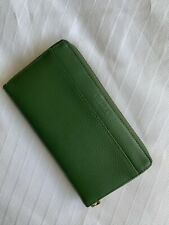 Osprey Green Leather Wallet Great Condition