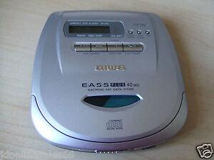 Aiwa XP-V70 Personal Portable Walkman CD Player Jog Proof Anti Shock 1 Bit DAC