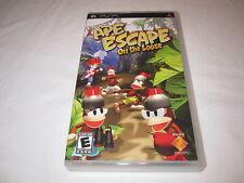 Ape Escape: On the Loose (Playstation PSP) Original Release Complete Excellent!