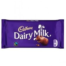 CADBURY DAIRY MILK  GIANT 200g (3) CHOCOLATE BARS  Long Date..