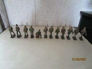 LINEOL Germany, 12 Pieces, WWII German Troops