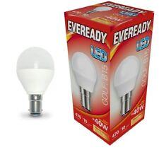 Eveready 6w (=40w) LED Opal Golf Ball Lamp - Small Bayonet Cap (SBC) Warm White