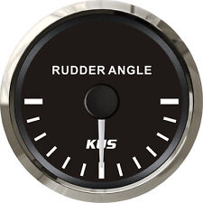 52mm KUS black Rudder angle gauge (SV-KY09011) 0-190ohm with sensor (KE41000)