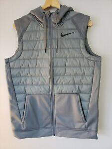 Nike Men's Therma Full Zip Size Medium Winter Vest BV4534 084 NWT