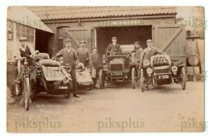 OLD POSTCARD BRAKE &SON ? MOTOR GARAGE WEST STREET ILMINSTER SOMERSET REAL PHOTO