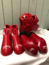 Tiger Claws Sparmaster Sparring RED Set Feet Hands Head