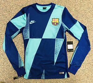 Nike Men's FC Barcelona L/S UCL Pre-match Top BV2209-313 Size XS